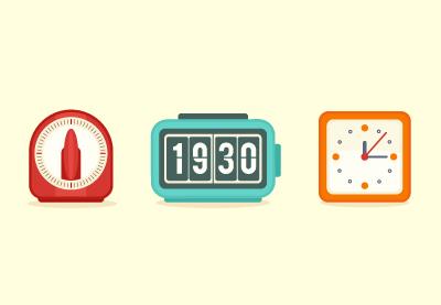 32 clock flat400