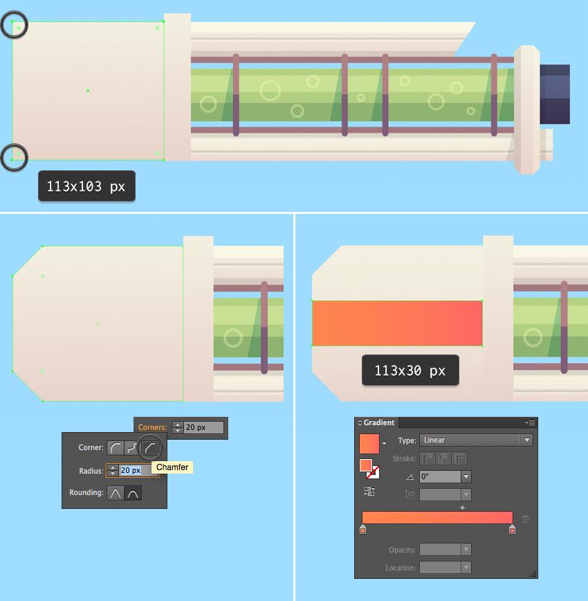 How to Design a Flat Sci-Fi Blaster in Adobe Illustrator