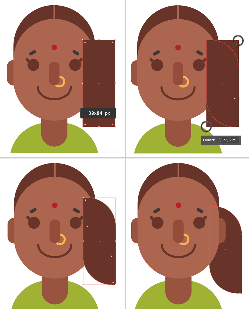 How to Create Diverse Women Avatars in Adobe Illustrator