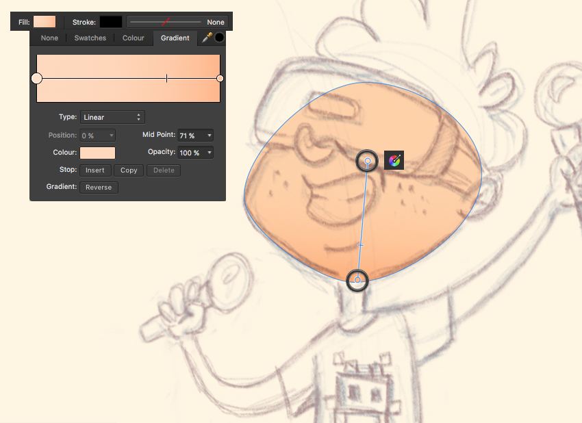 How to Design a Virtual Reality Kid Character in Affinity Designer