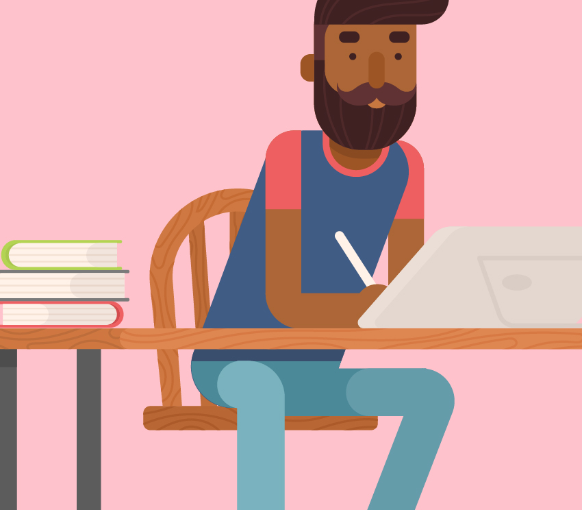 Character Design Career Path : How to draw a flat designer character in adobe illustrator