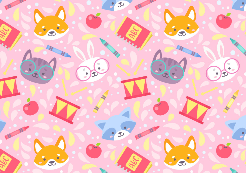 How to Create a Cute, Playful School Pattern in Adobe Illustrator