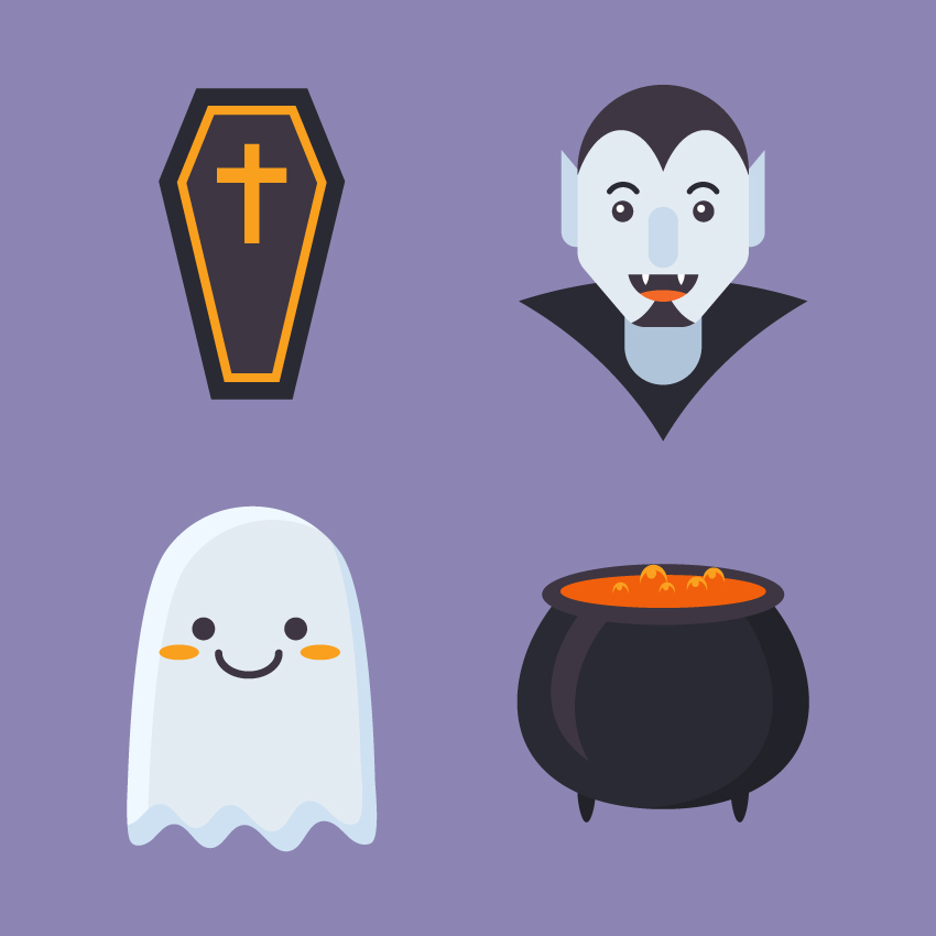 How to Create a Set of Halloween Icons in Adobe Illustrator