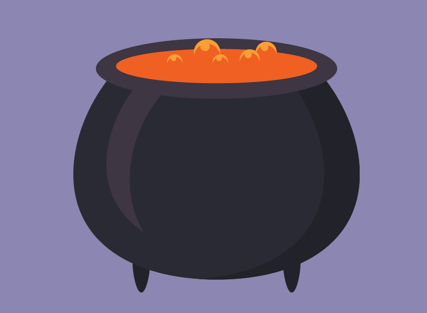 the cauldron icon is finished