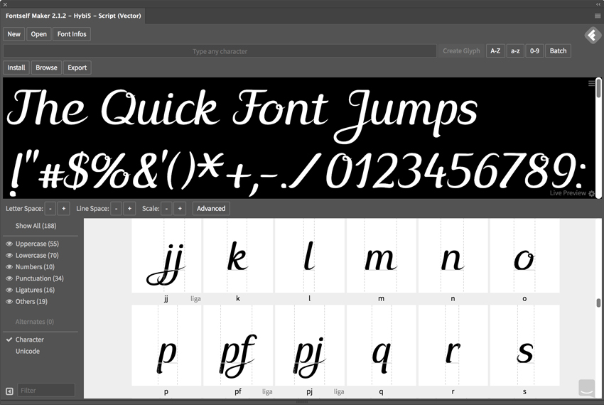How to Create a Color Font With Adobe Illustrator and Fontself Maker