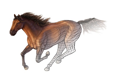 Preview for Apply Your Color Theory Lessons into Painting a Horse