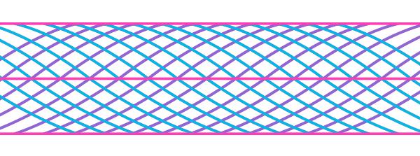 lignes courbes restantes