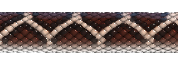 snake diamond patterns