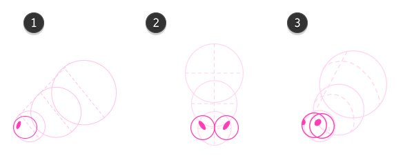 How to draw cow head 2