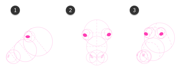 How to draw cow head 5