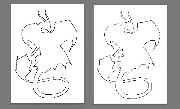 clean outline comparison