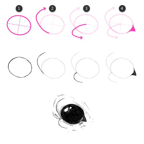 how to draw bat eyes
