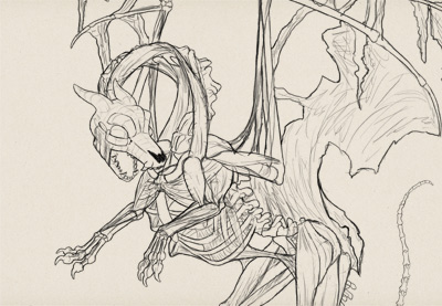 Draw zombie dragon prev