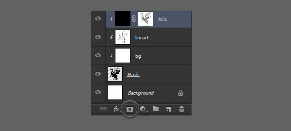 how to paint in ambient occlusion photoshop 3