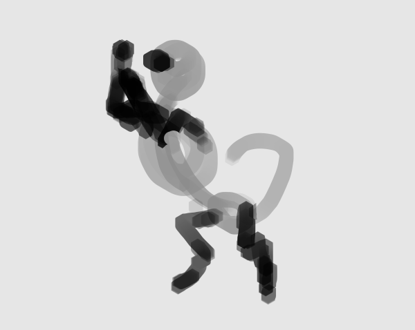 paint a pose quickly 8