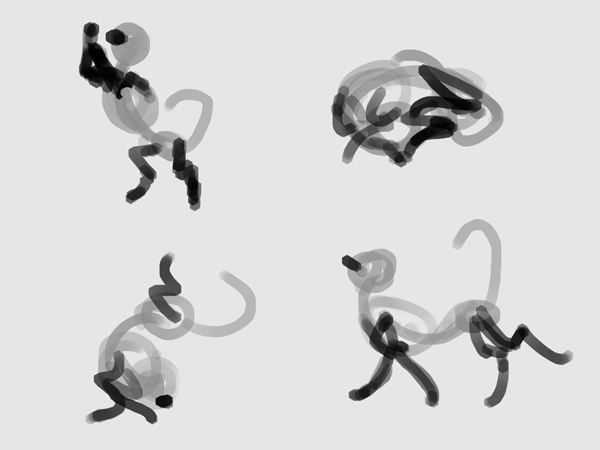 paint a pose quickly 12