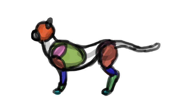 paint muscles quickly 1