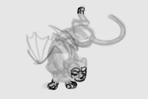 paint cat head easy quickly 4