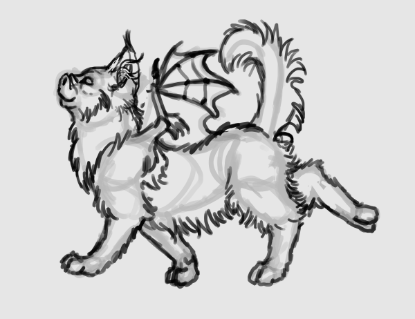 sketch a cat quickly 4