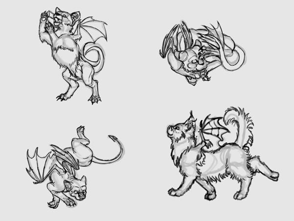sketch a cat quickly 5