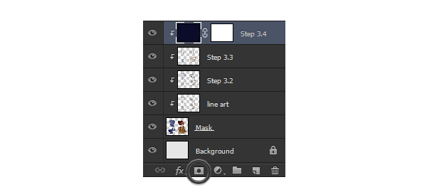 photoshop add layer mask painting