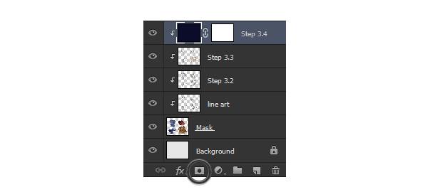 photoshop add layer mask painting