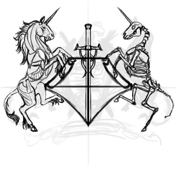 thiết kế áo thun thanh kiếm 2