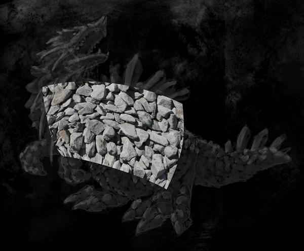 concept art monster textures