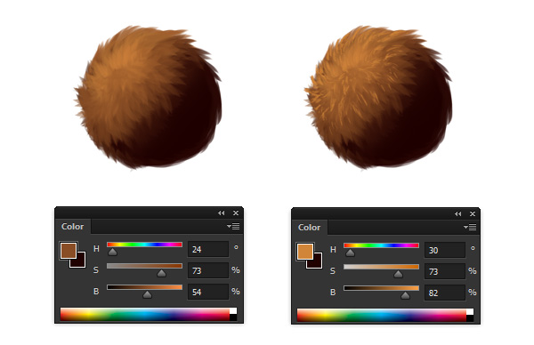 fur detail reference