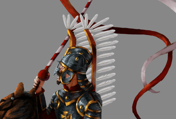 how to paint draw feathers photoshop wing hussar 5