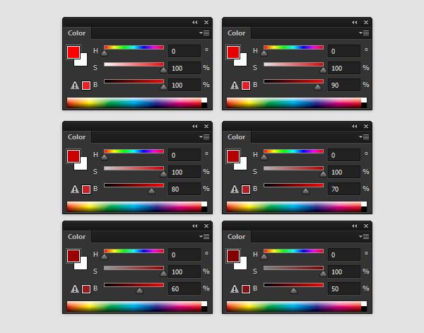 pintura da cor barrenta modo de cor em tons de cinza photoshop 2