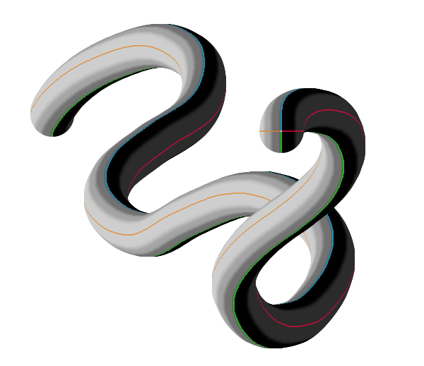 perspective photoshop 3d neck dragon tail snake 2