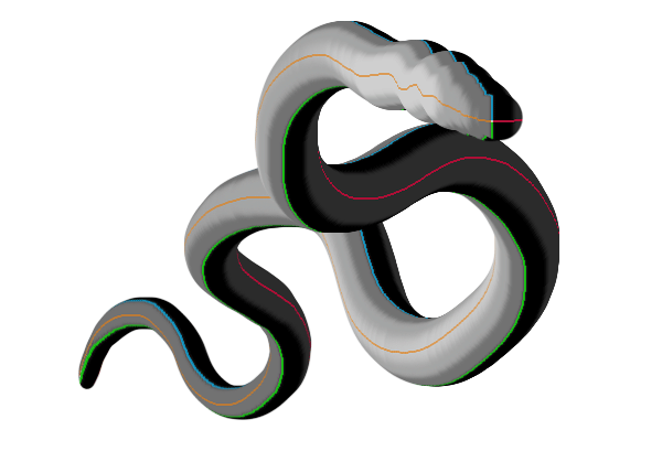 perspective photoshop 3d neck dragon tail snake 5
