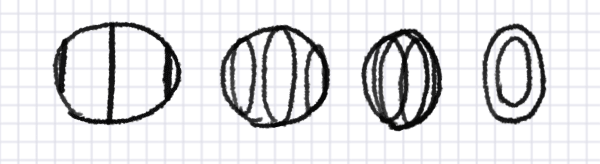 how to draw perspective coil ellipse circle 2