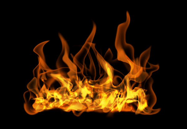 How to paint fire photoshop digital 18
