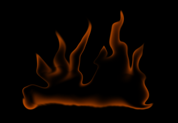 How to paint fire photoshop digital 7