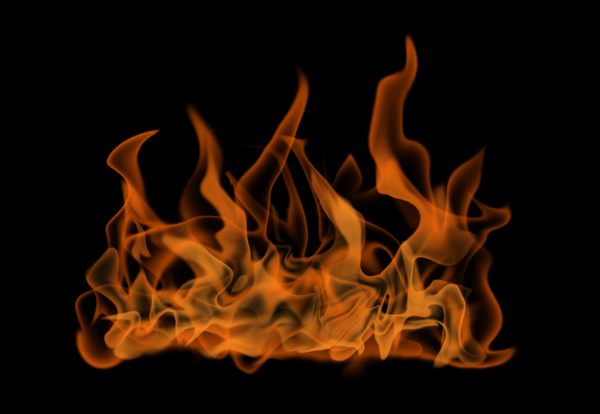 How to paint fire photoshop digital 12