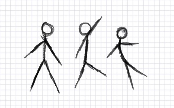 how to draw a stick figure a complex guide
