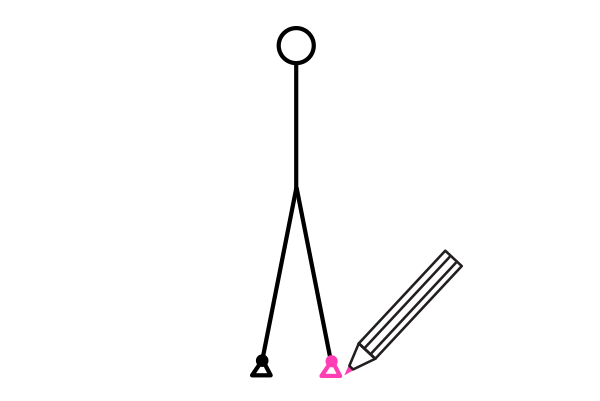 how to draw stick figure stickman tutorial legs feet 5