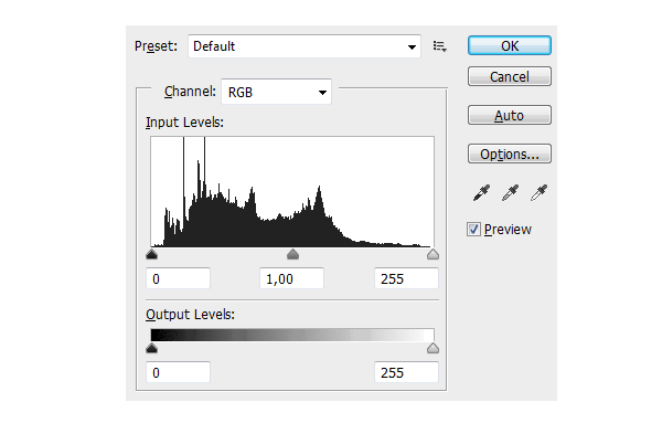 digital painting levels histogram how