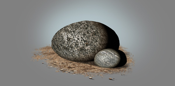 photoshop paint stone texture light effect