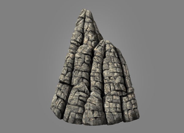 photoshop rock mountain paint textured moutain