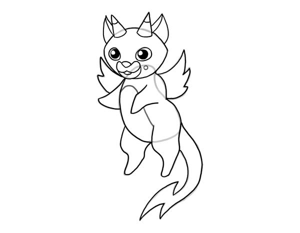 design draw mascot lineart