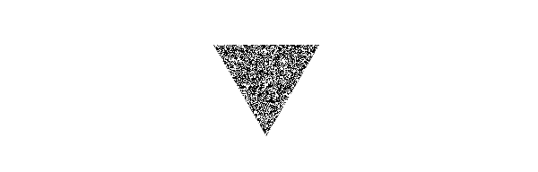 photoshop noise textured triangle