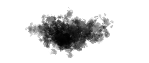 photoshop create cloud brush test stroke