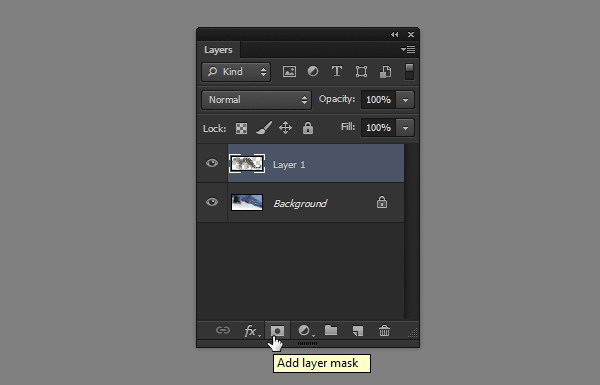 photoshop layer mask add
