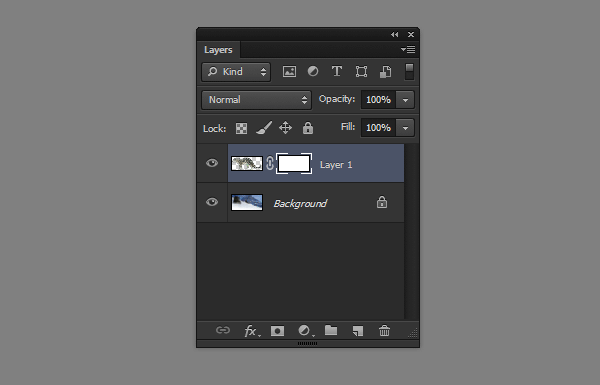 photoshop layer mask added
