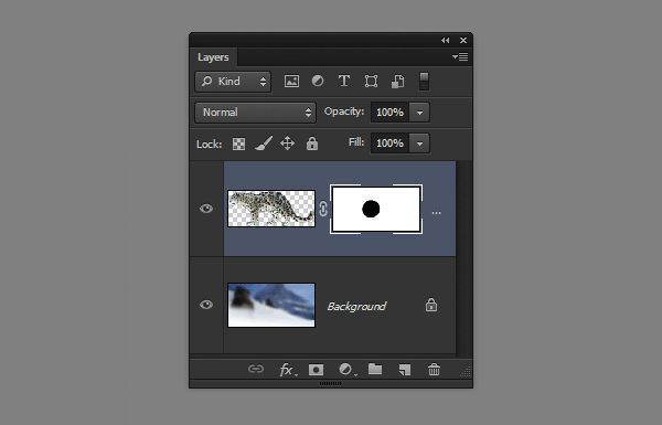 photoshop layer mask black transparent