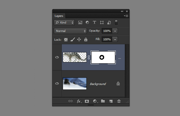 photoshop layer mask white opaque