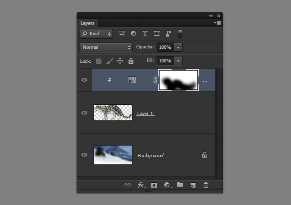 photoshop layer mask adjustment apply part